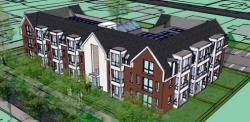 Nieuwbouw 21 appartementen Nunspeet