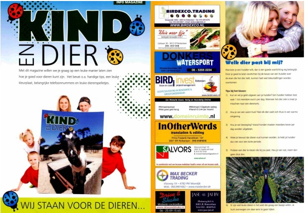 Kind en Dier - MVO BIRD invest